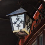 Фонарь кованный, фонарь с ковкой